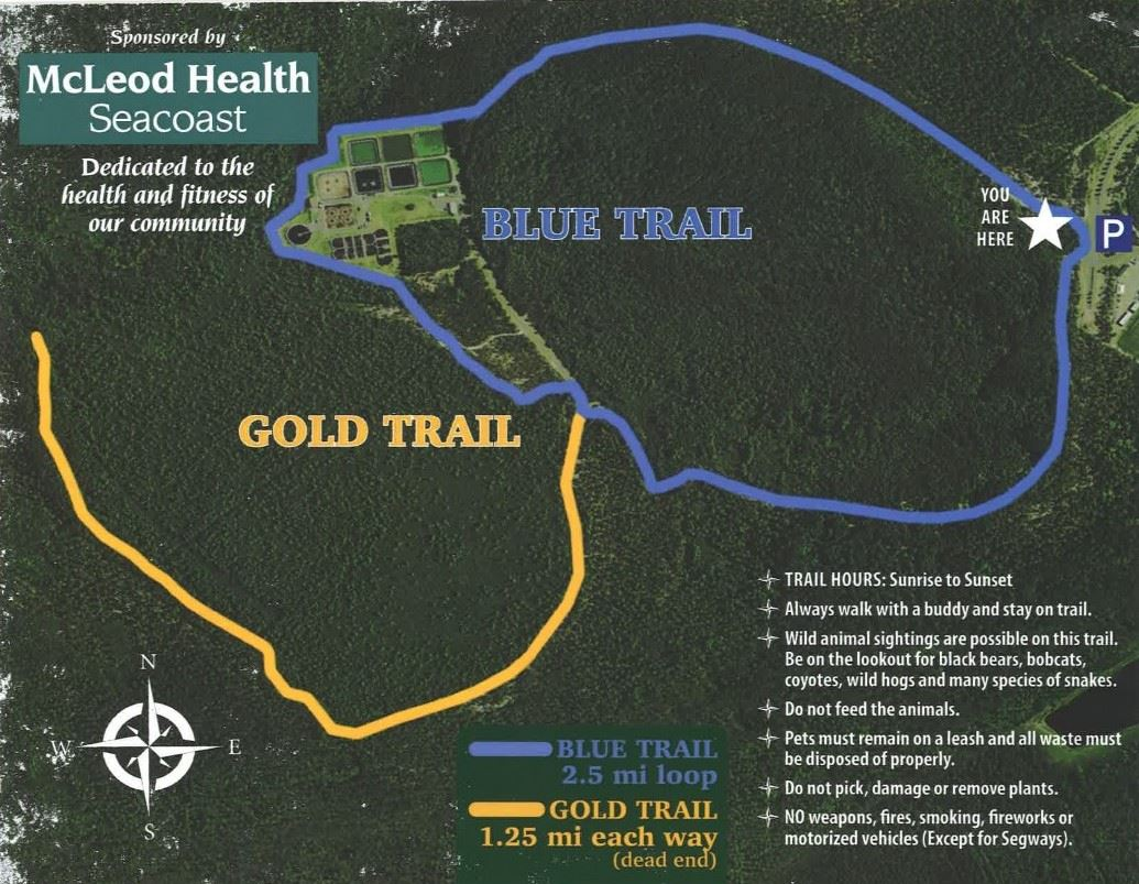 McLeod Health Seacoast Trail Map